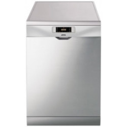 Smeg Dishwasher, Freestanding, Silver With Antifingerprint Stainless Steel Door, 13 Place Settings, 60 Cm, Energy Rating A+++