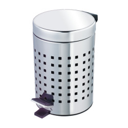 Wenko Exclusive Cosmetic Pedal Bin Perforated Design