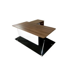 Boss's Cabin Sharp 5 Ft. Office Table With Fixed Pedestal - Bctsh-13m IMAGE