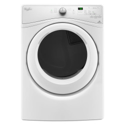 Whirlpool 7.4 cu. ft. Duet Long Vent Front Load Electric Dryer with Wrinkle Shield Plus Option