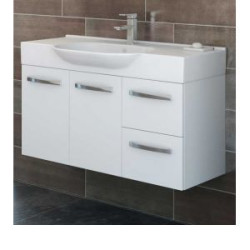 Trend Bathroom & Kitchen Centre Lisbon  1050 Vanity with Emerald Ceramic Top