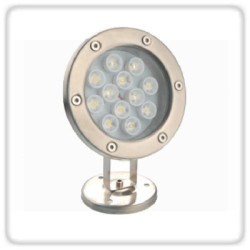 Glow Green Surface Mounted Under Water Light 9 LED Bulbs