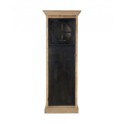 SNG Solid Wood Unique Black Door Wardrobe India