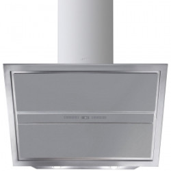Smeg Wall Decorative Hood, 90 cm, Linea, Steel And Glass, Energy Rating B