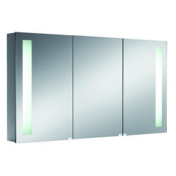 Emco Mirror Cabinet Premium, 1.200 Mm, Built-In-Model mirror cabinet