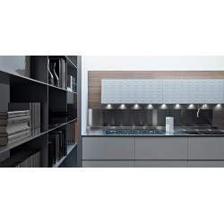 Valcucine Riciclantica White Varnished Aluminium Riciclantica white varnished aluminium