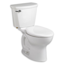 "American Standard Cadet PRO Elongated Toilet 10 Rough-In 1.6gpf Cadet PRO Elongated Toilet 10"" Rough-In 1.6gpf"