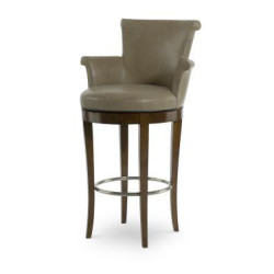 Century Furniture Scroll Swivel Bar Stool 3800B-3