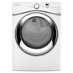 Whirlpool 7.3 cu. ft. Duet Front Load Electric Steam Dryer with ENERGY STAR Qualification