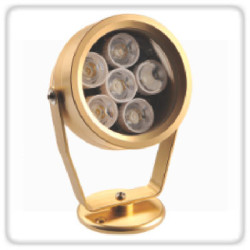 Glow Green Outdoor Lights 6LED Bulbs