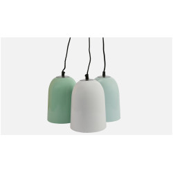 91 Degree Hanging Bell Colored Lamps image 1