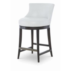 Century Furniture PAPYRUS - Leather Swivel Counter Stool PLR-3855c