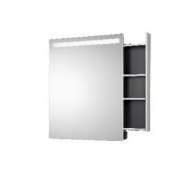 Emco  Mirror Cabinet Monolith, Tray Right, IP 44. mirror cabinet