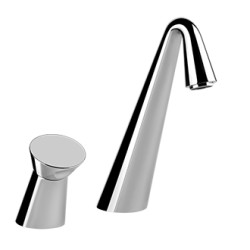 Gessi Two-Hole Bath Mixer With Tub-Filler Spout faucet