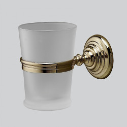 Devon & Devon Glass Cup ToothBrush Holder