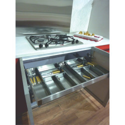 Inox Satin Silent Cutlery Drawer