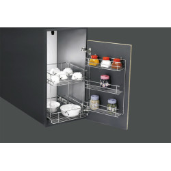 Sleek SS Double Pullout ss-double-pull-out