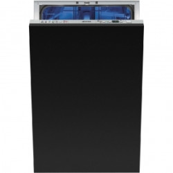 Smeg Dishwasher, Built-in fully integrated, 10 place setting, 45 cm Energy Rating A++