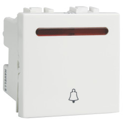 Havells 6Ax Mega Bell Push Ind. Switch IMAGE