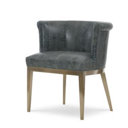 Century Furniture Camille Brass Arm Chair