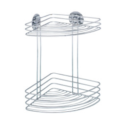 Wenko Turbo-Loc corner rack