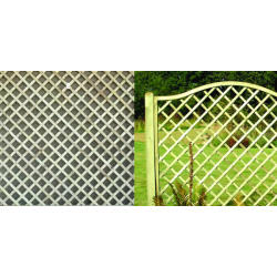Lunia Wires 'N' Mesh Lattice Trellis IMAGE