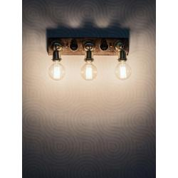 Fos Lighting Retro Switch Triple Vanity Light IMAGE