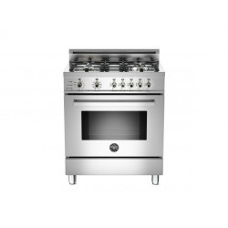 Bertazzoni 30 4-Burner, Electric Self-Clean Oven
