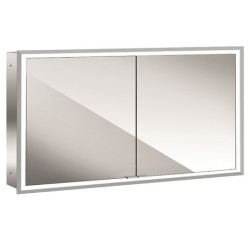 Emco Mirror Cabinet Prime, 1.200 Mm, 2 Doors, Built-In Version, IP 20 mirror cabinet