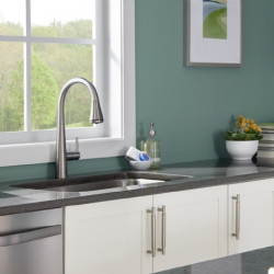 American Standard Edgewater Pull-Down Kitchen Faucet with SelectFlo
