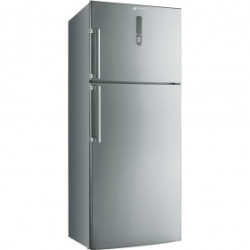 Smeg Double Door Refrigerator-Freezer, Stainless Steel, Free Standing, Energy Rating: A+