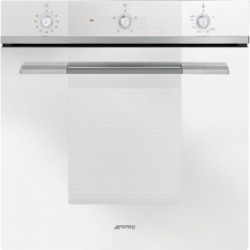 Smeg Gas Ventilated Oven,60 Cm,  Linea, White, Energy Rating: A