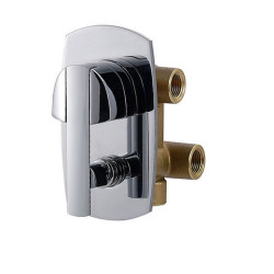 Zazzeri Store Concealed shower mixer with diverter -Two way - Complete