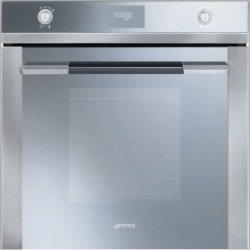 Smeg Electric Ventilated Oven, Pyrolitic,60 Cm, Linea,Stainless Steel And Silver Glass, Energy Rating  A