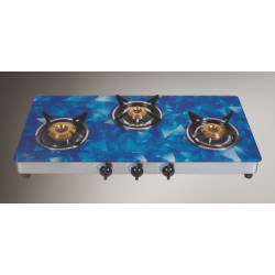 Elica 773 Ct Verto S S with Digital Blue Glass Hob 773 Ct Verto Digital Blue
