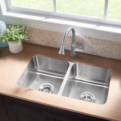 American Standard Danville 32x18 Double Bowl Kitchen Sink