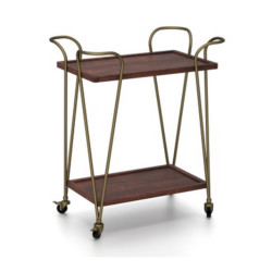 SNG Solid Wood Living Kitchen And Bar Trolley India
