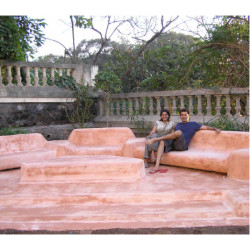 Bharat Floorings and Tiles Peach IPS Furniture Stone Tiles