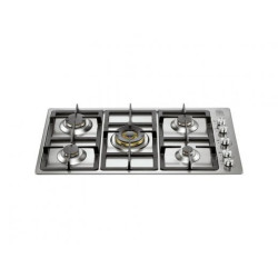 La Germania 90mm 5-Brass Burners Side Control Hob 90 5-Brass Burners Side Control Hob