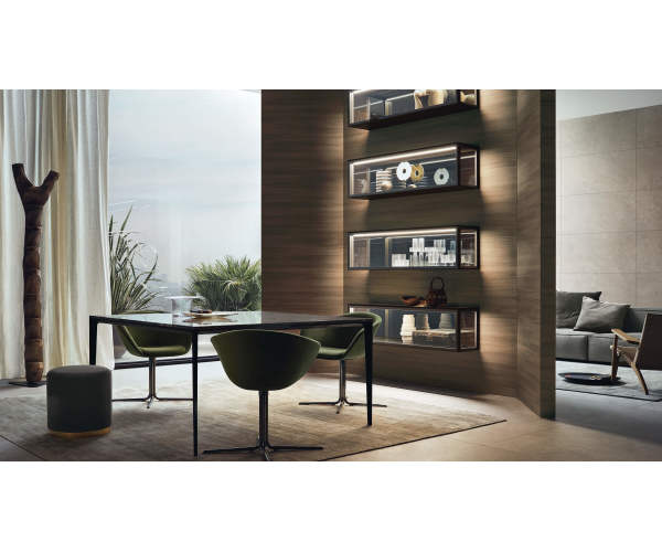 Rimadesio Alambra Suspended Cabinet with Flap Door Rimadesio Alambra Suspended Cabinet with Flap Door