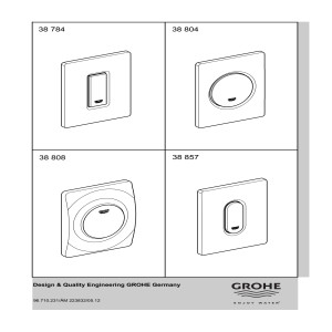 Grohe Arena Cosmopolitan Wall Plate 38857sh0 1629386.pdf