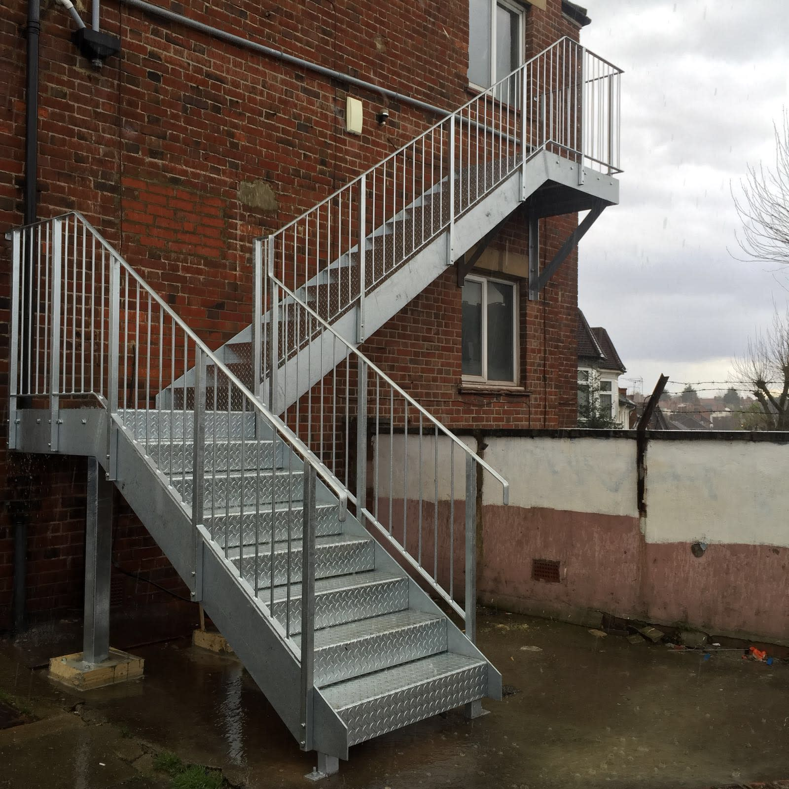 Fire Escape And Safety Stairs