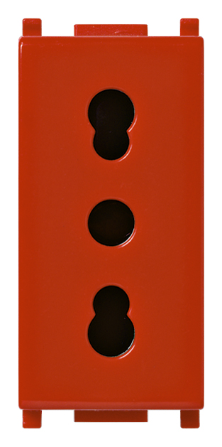 Antibacterial 2P+E 16A P17/11 outlet red