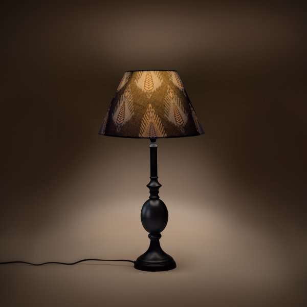 Cottage Bell Lampshade Small - Midnight Bloom