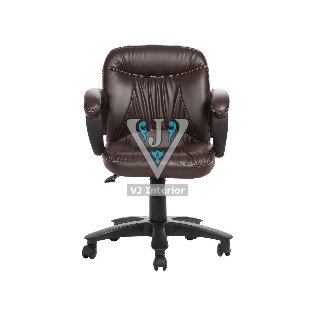The Delantal Workstaion Chair Brown