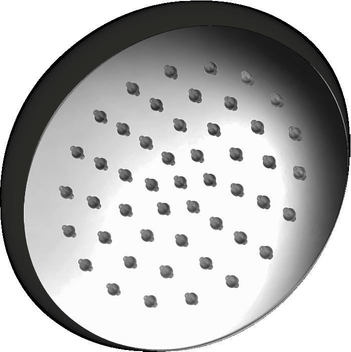 Aston Ultra Slim Shower, Round
