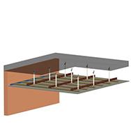 Gypsum Plasterboard False Ceiling System