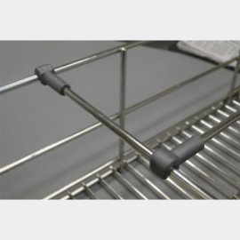Partition Rod for Basket with Clip