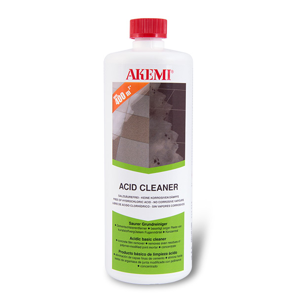 Acid Cleaner - free of hydrochloric acid