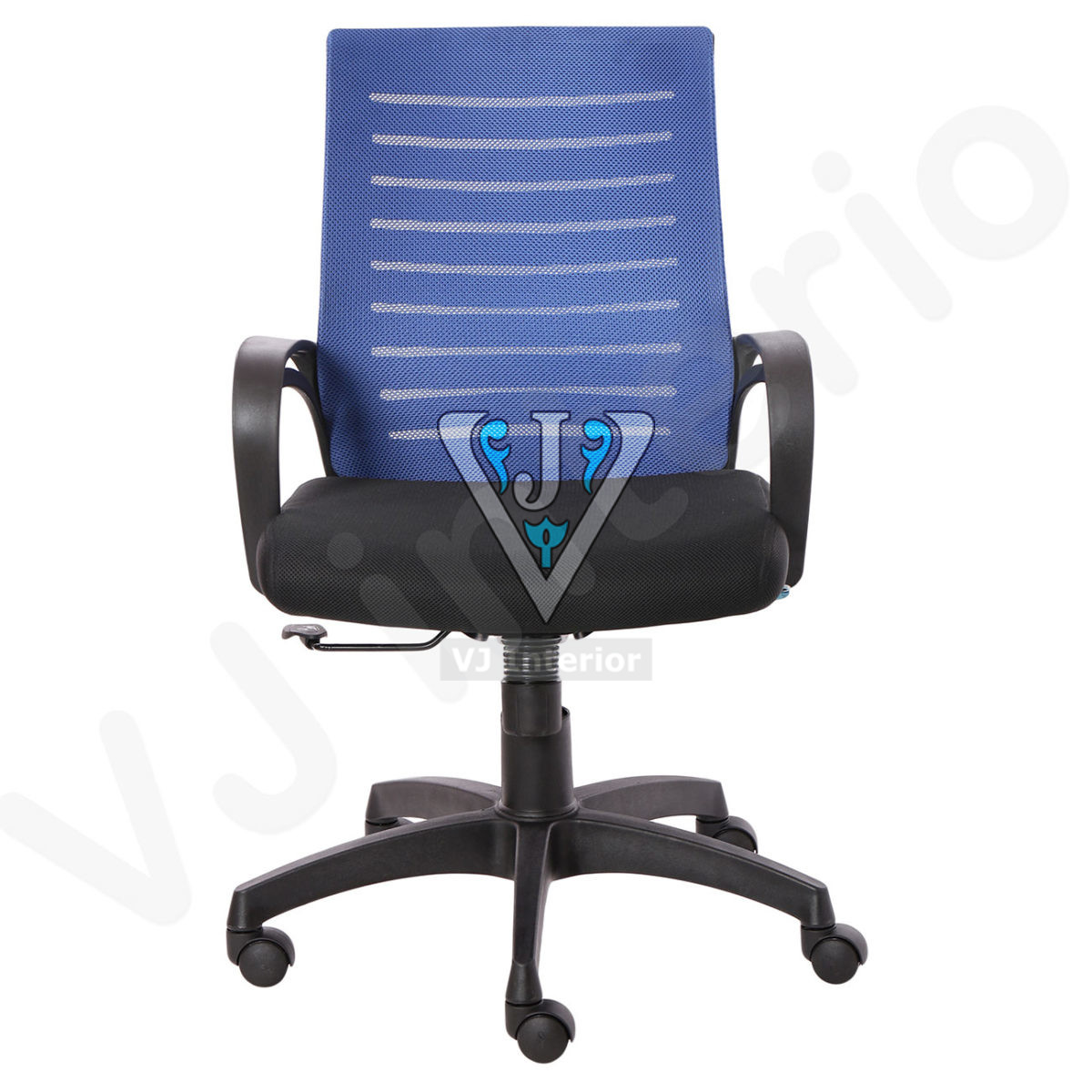 The Granate Black And Blue Task Chair